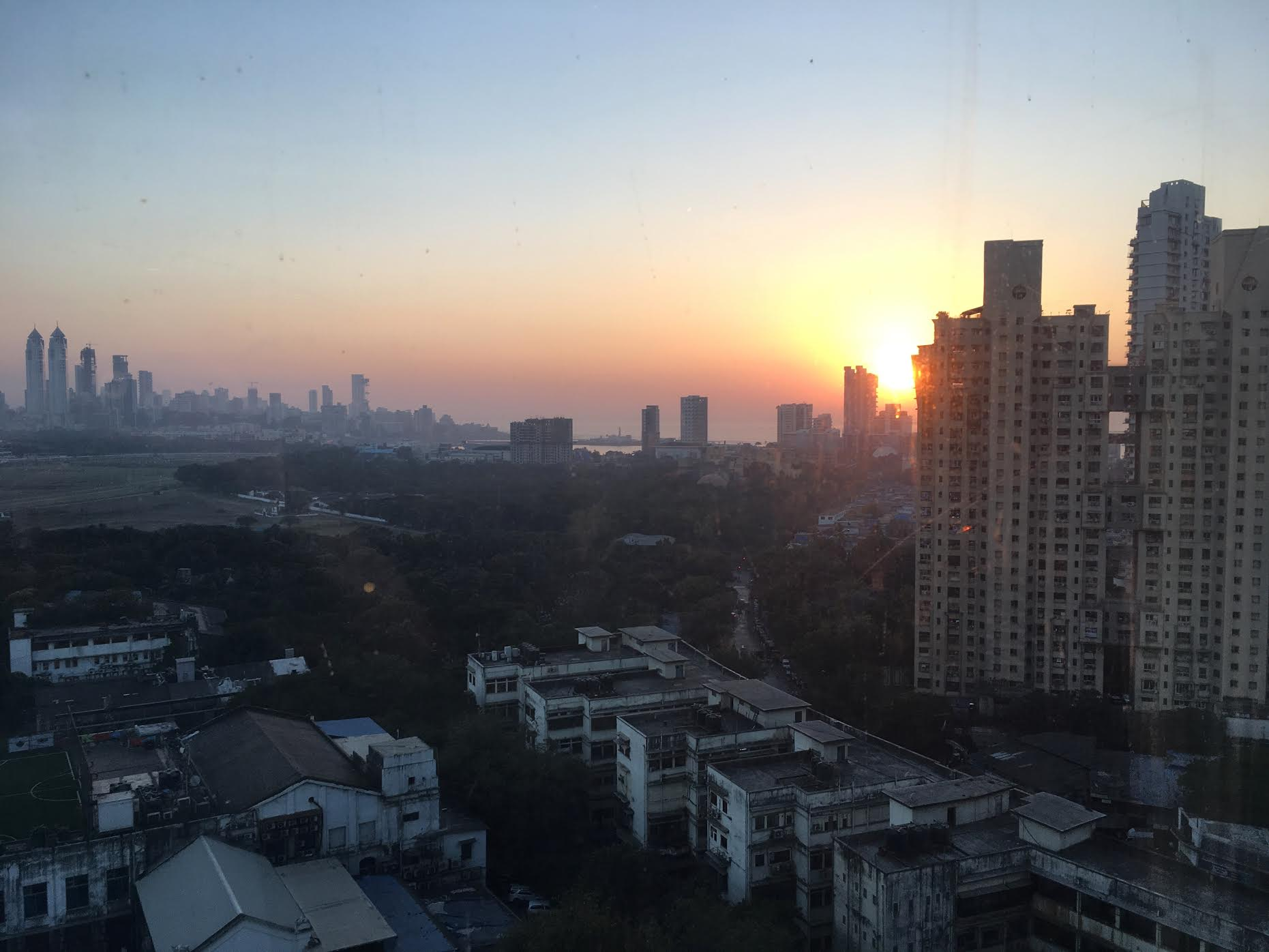 Sunset from St. Regis, Mumbai