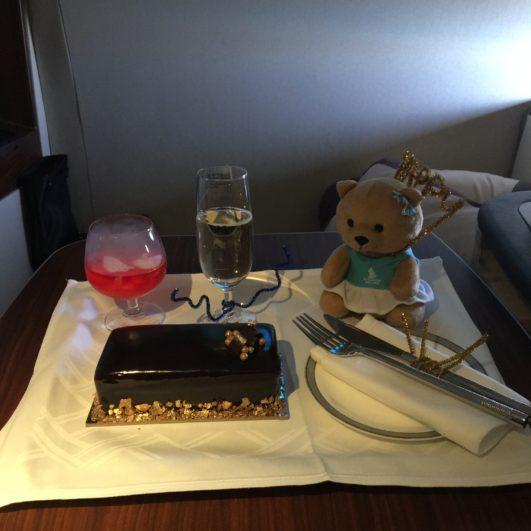 Singapore Airlines Cake
