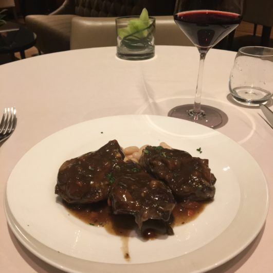 Singapore Airlines Private Room Dining