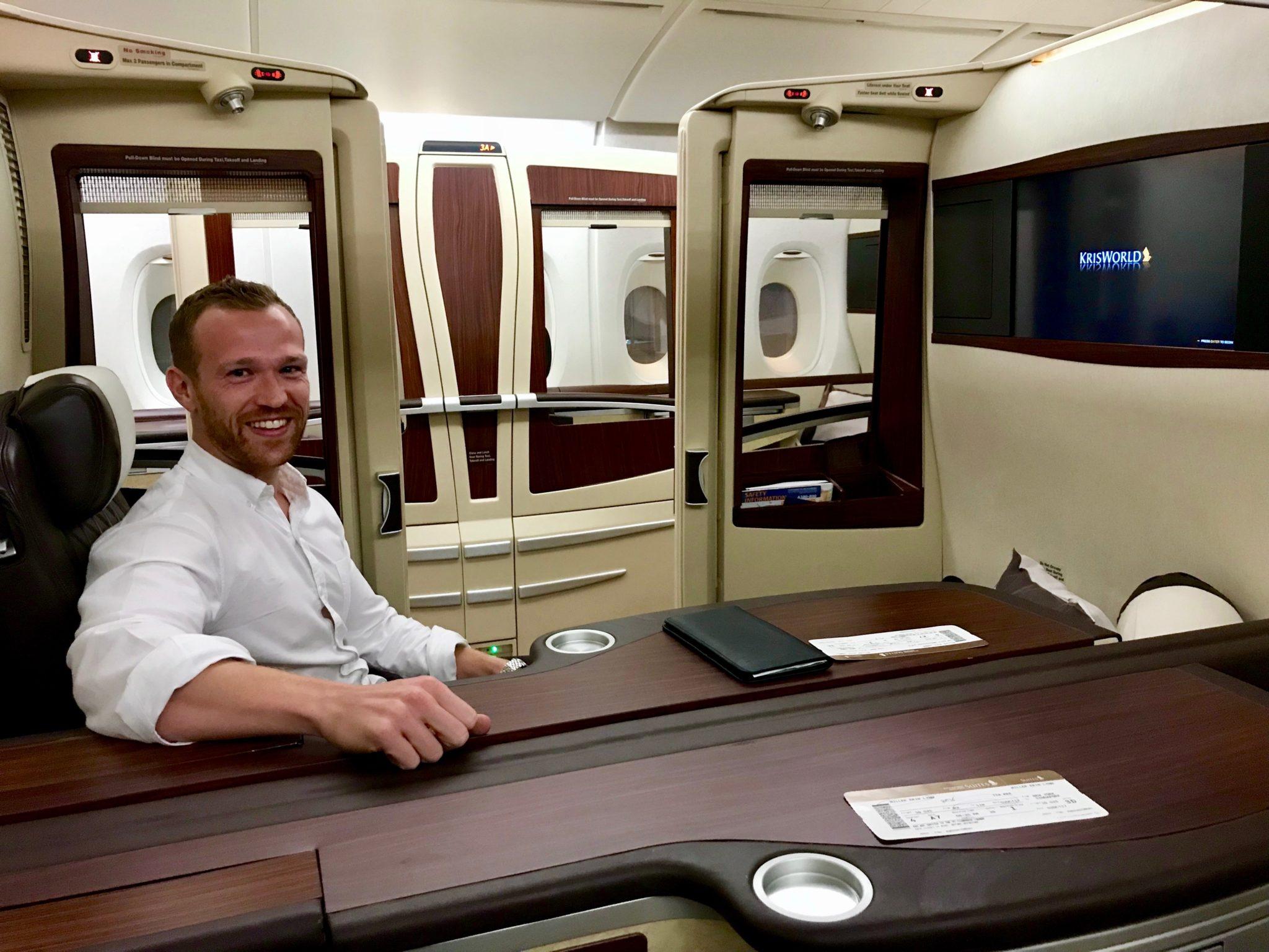 Singapore Suites First Class - Pre-flight