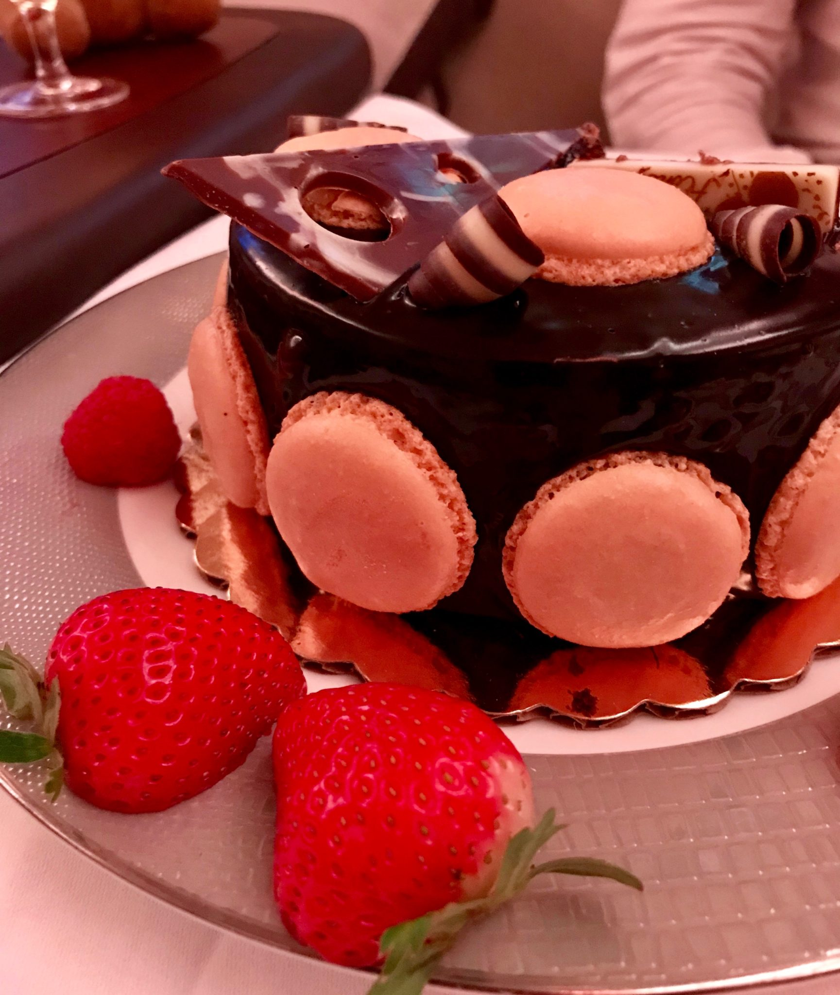 Singapore Suites First Class - Special Cake