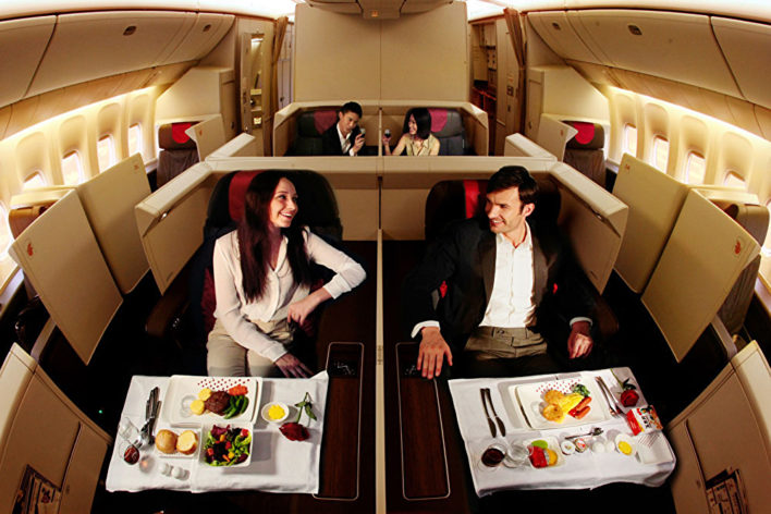 Air China Forbidden First Class