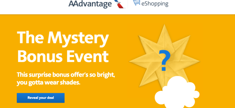 American Airlines AAdvanage eShopping