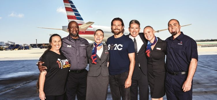 American Airlines Stand Up To Cancer