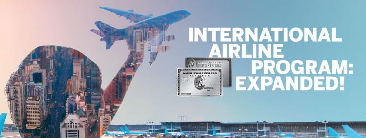 American Express International Airline Program