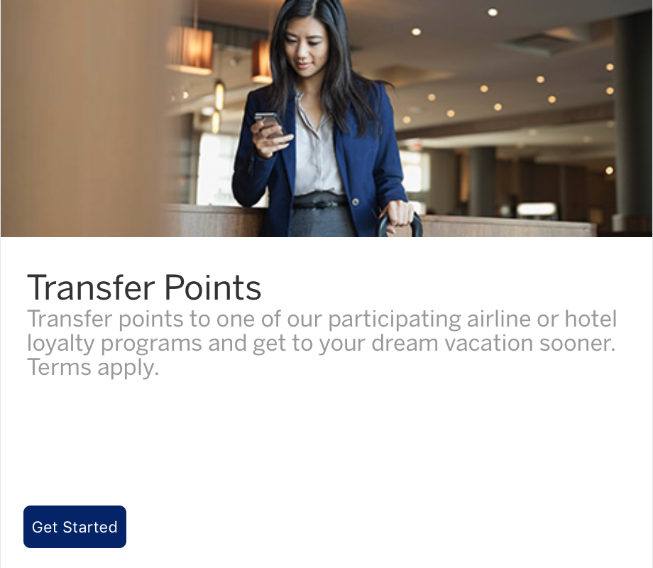 american express application already stared
