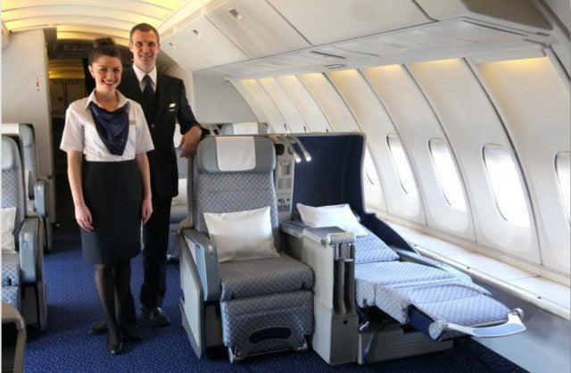 El Al 747-400 Business Class