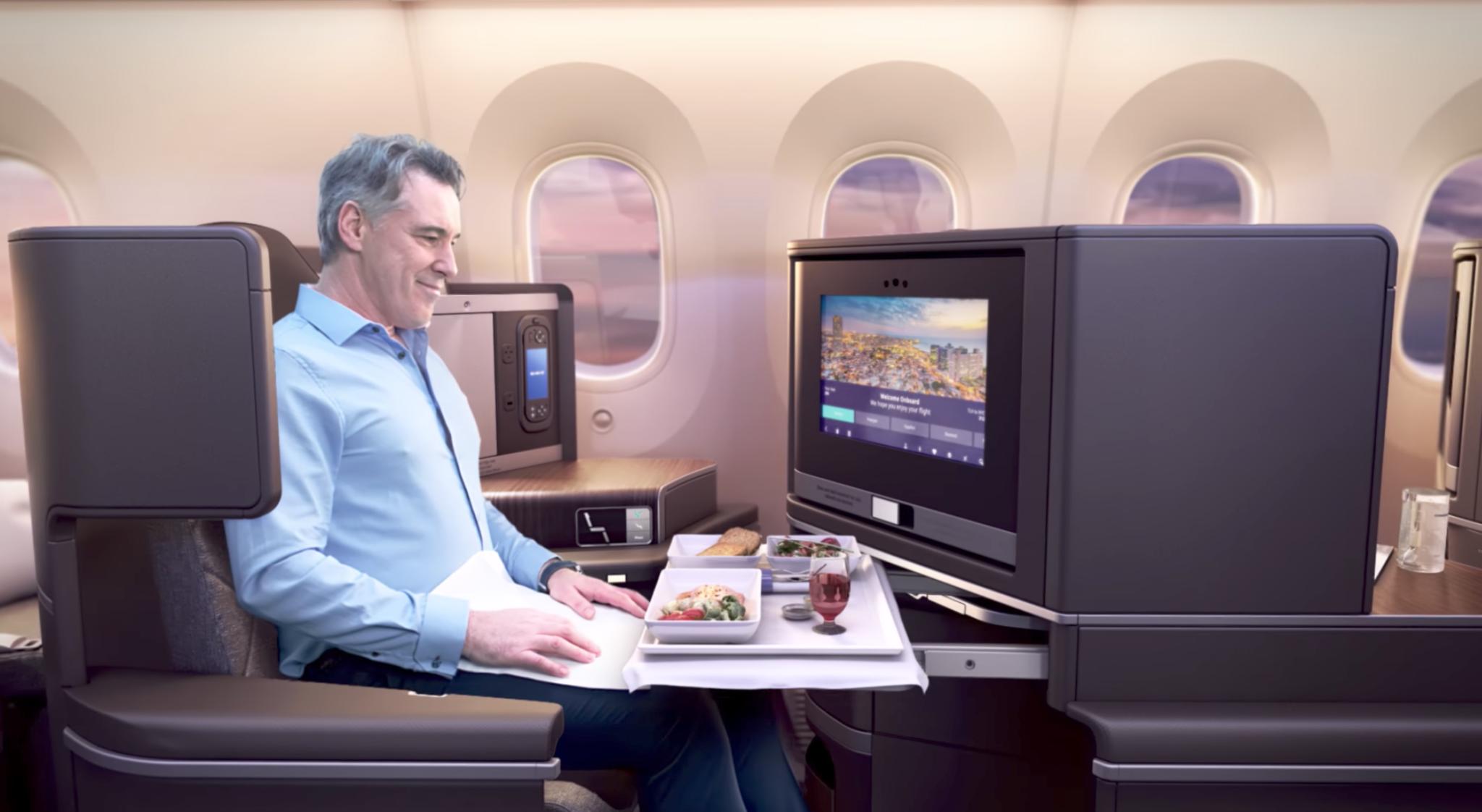 El Al 787 Dreamliner Business Class