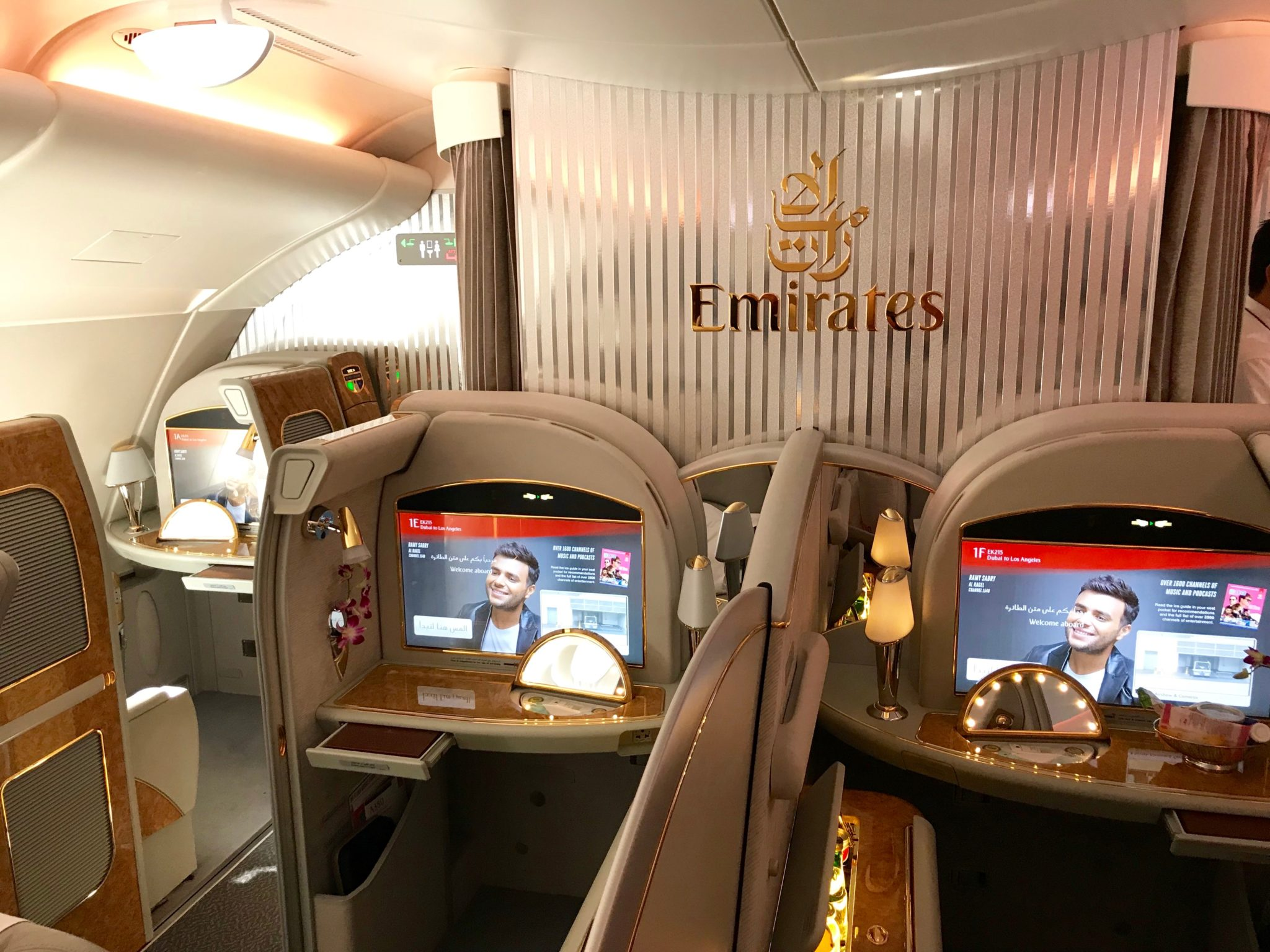 Emirates A380 First Class Review Dubai to Los Angeles