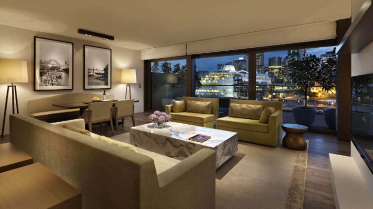 Park Hyatt Sydney Suite