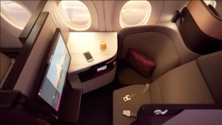 Qatar Airways QSuite Window