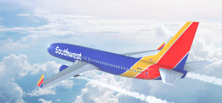Southwest Airlines Plane for Earning Southwest Rapid Rewards Points