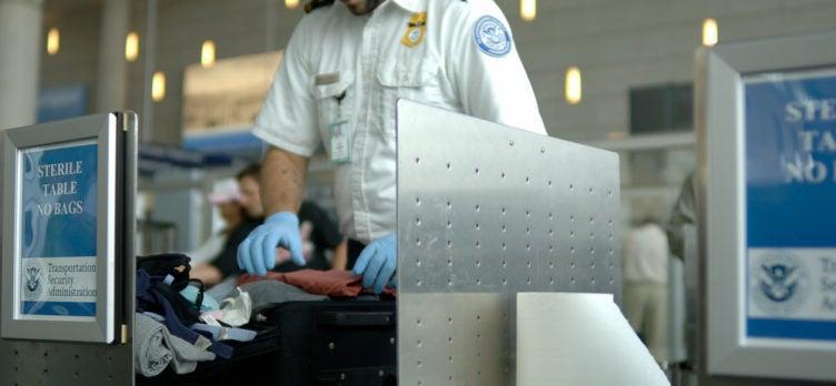 TSA Bag Search, Security