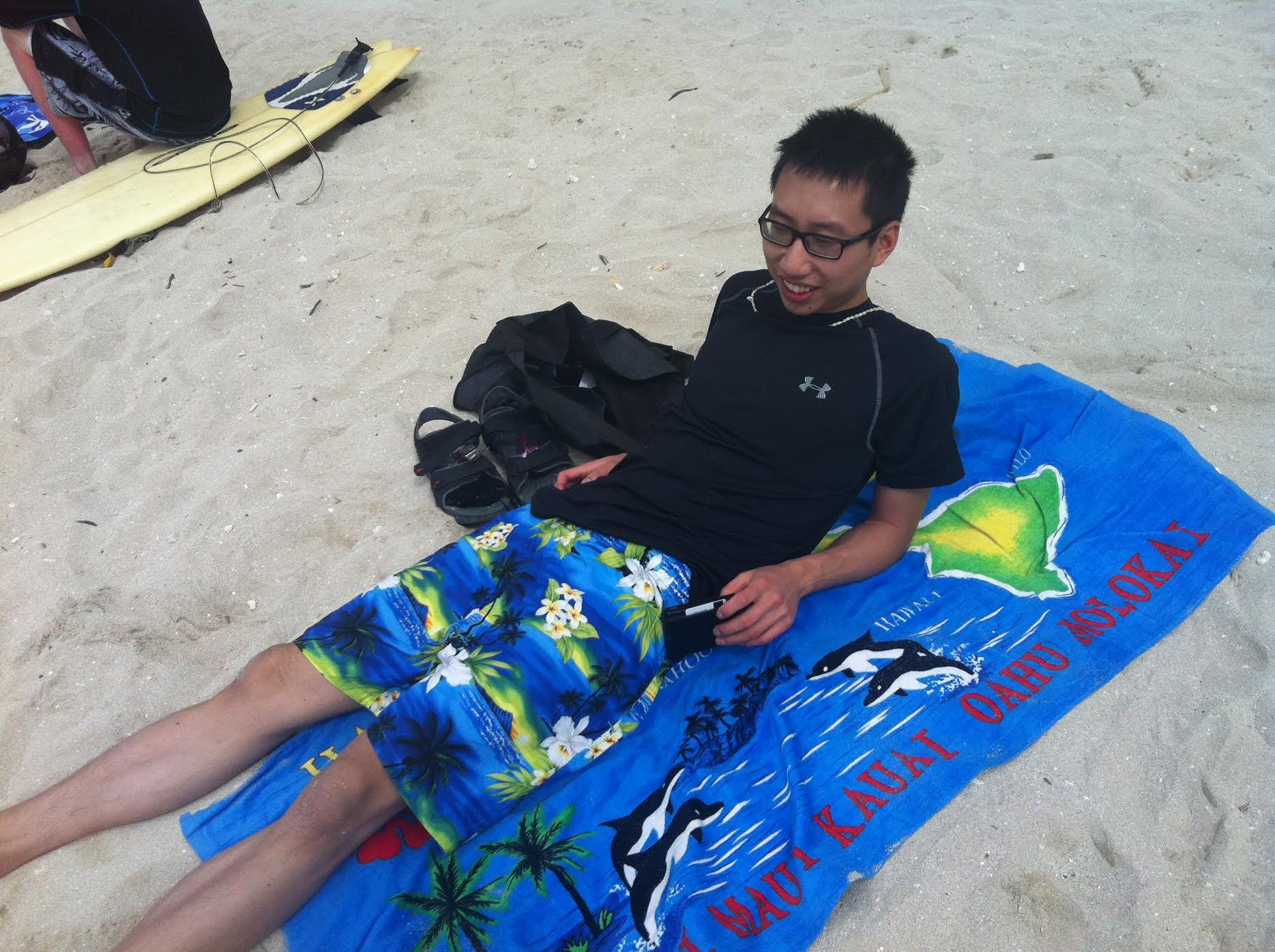 Matt from pointshogger in Waikiki