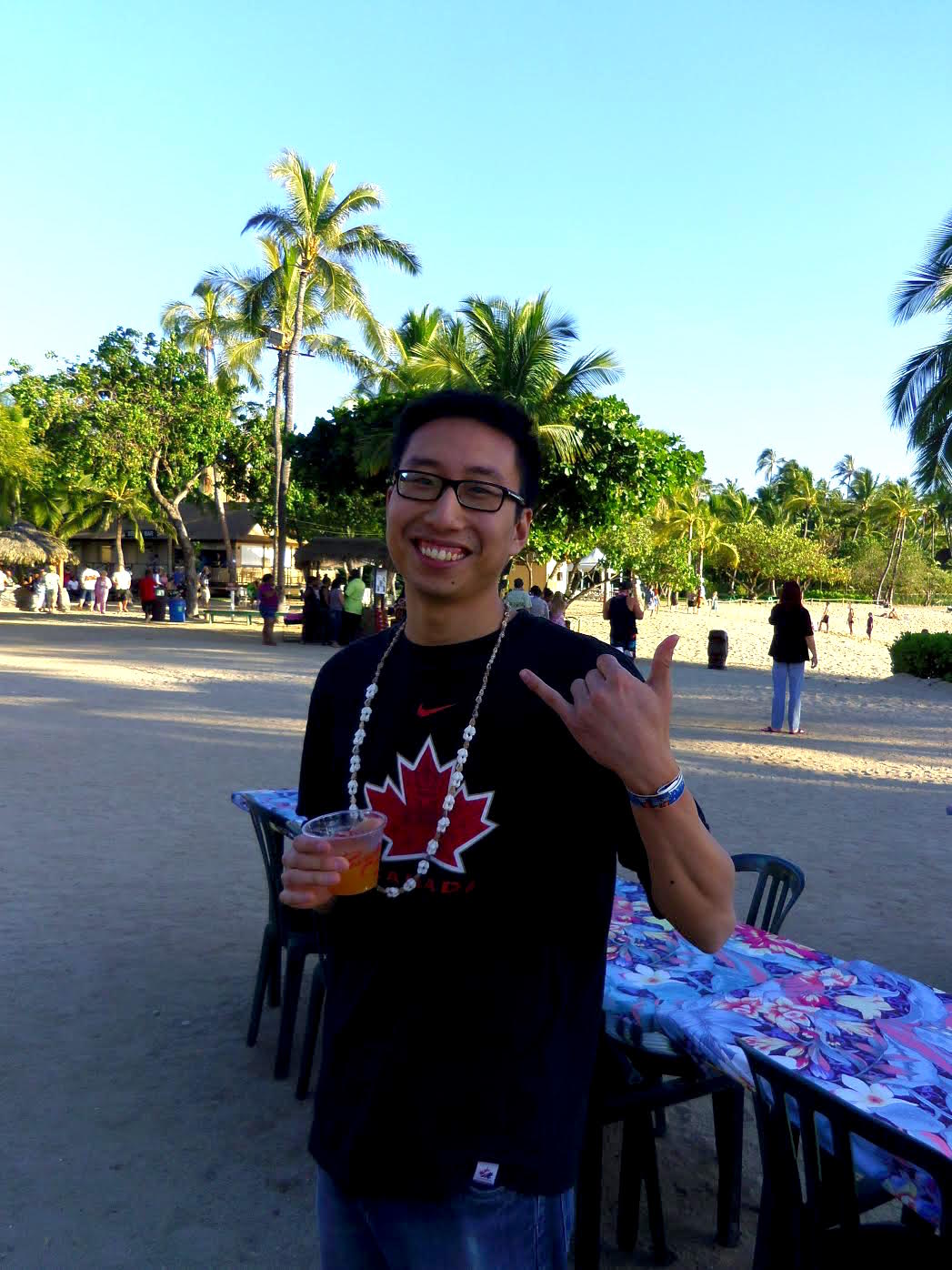 Matt from pointshogger in Honolulu