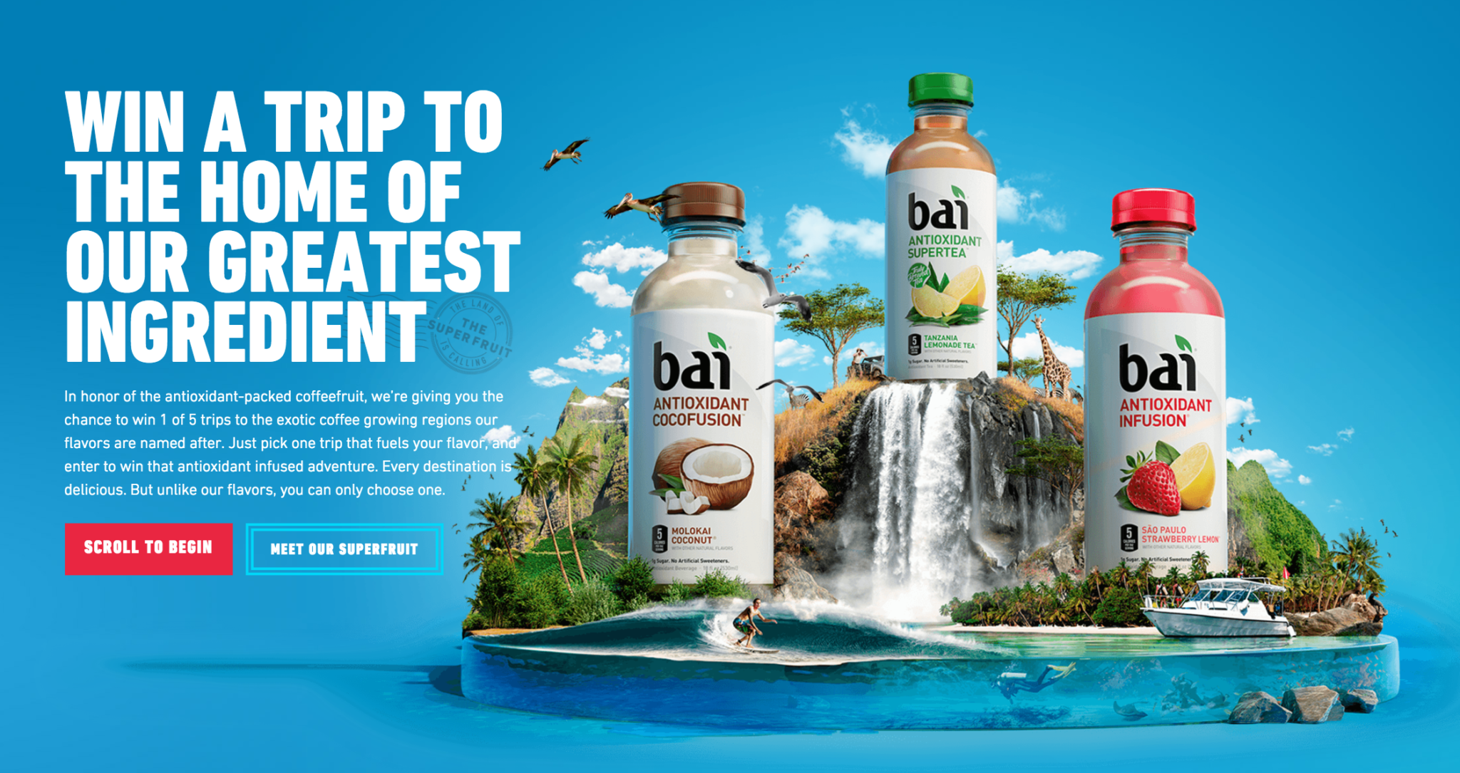 Bai Greatest Ingredient Sweepstakes