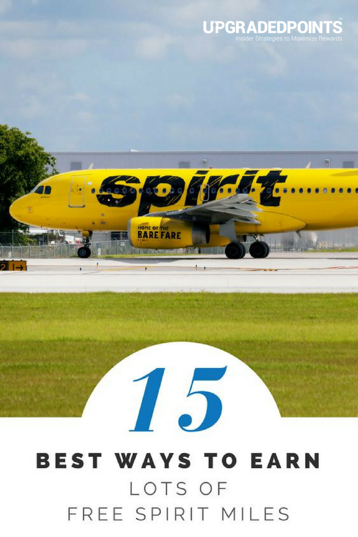 13 Best Ways to Earn Lots of Free Spirit Airline Miles [2019]