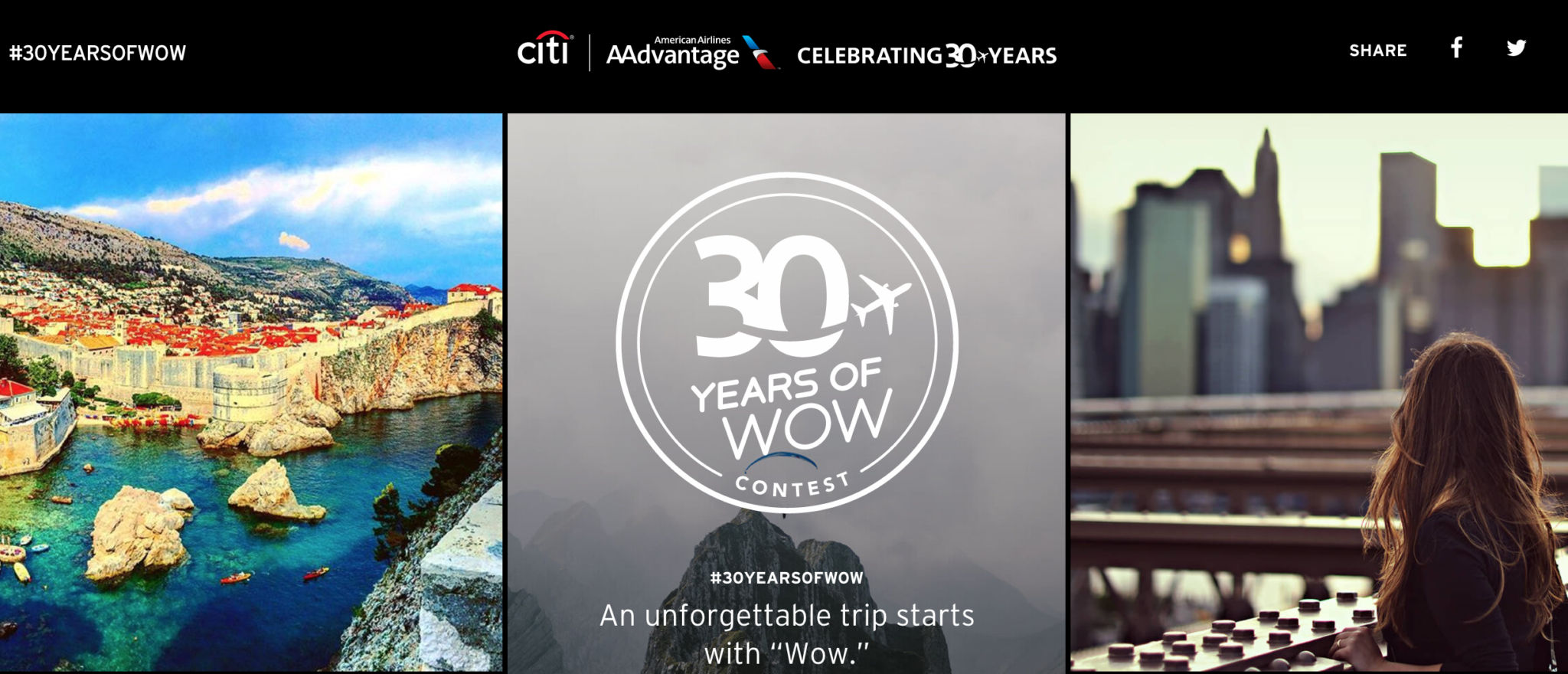 Citi / AAdvantage 30 Years of Wow Contest