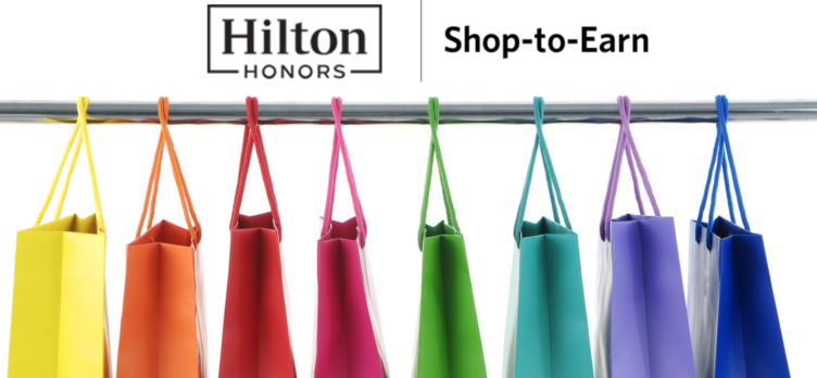 Hilton Honors Shop-to-Earn Shopping Portal
