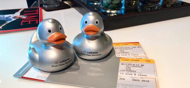 Lufthansa Ducks