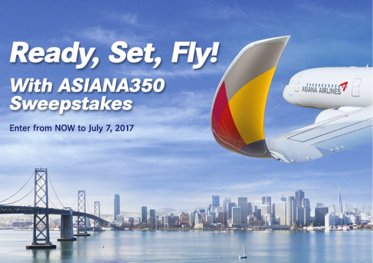 Ready, Set, Fly! With Asiana350 Sweepstakes