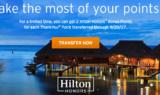 Thank You Points Hilton Promo
