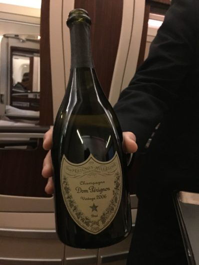 singapore suites dom perignon champagne