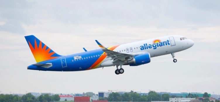 Allegiant's First Airbus Flight