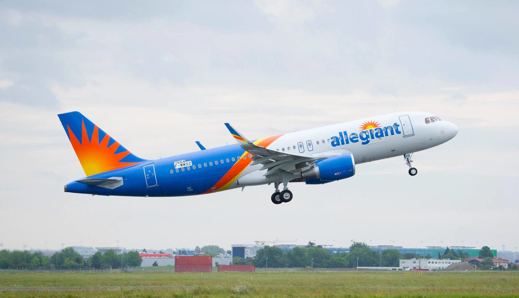 1dc9b199ed Allegiant Air Review - Seats