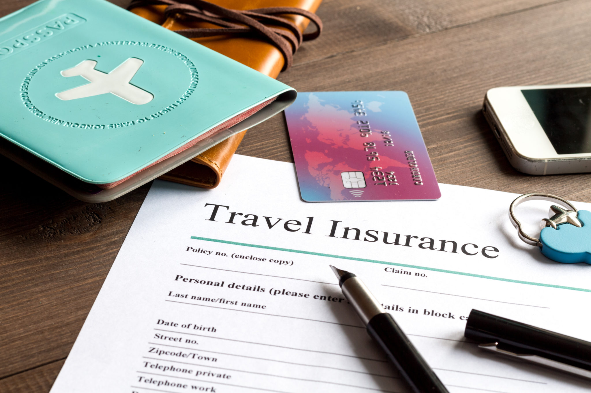 common carrier travel accident insurance