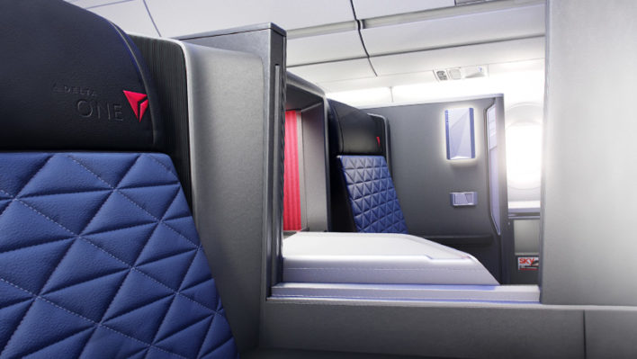 Delta One Suite Middle Seats
