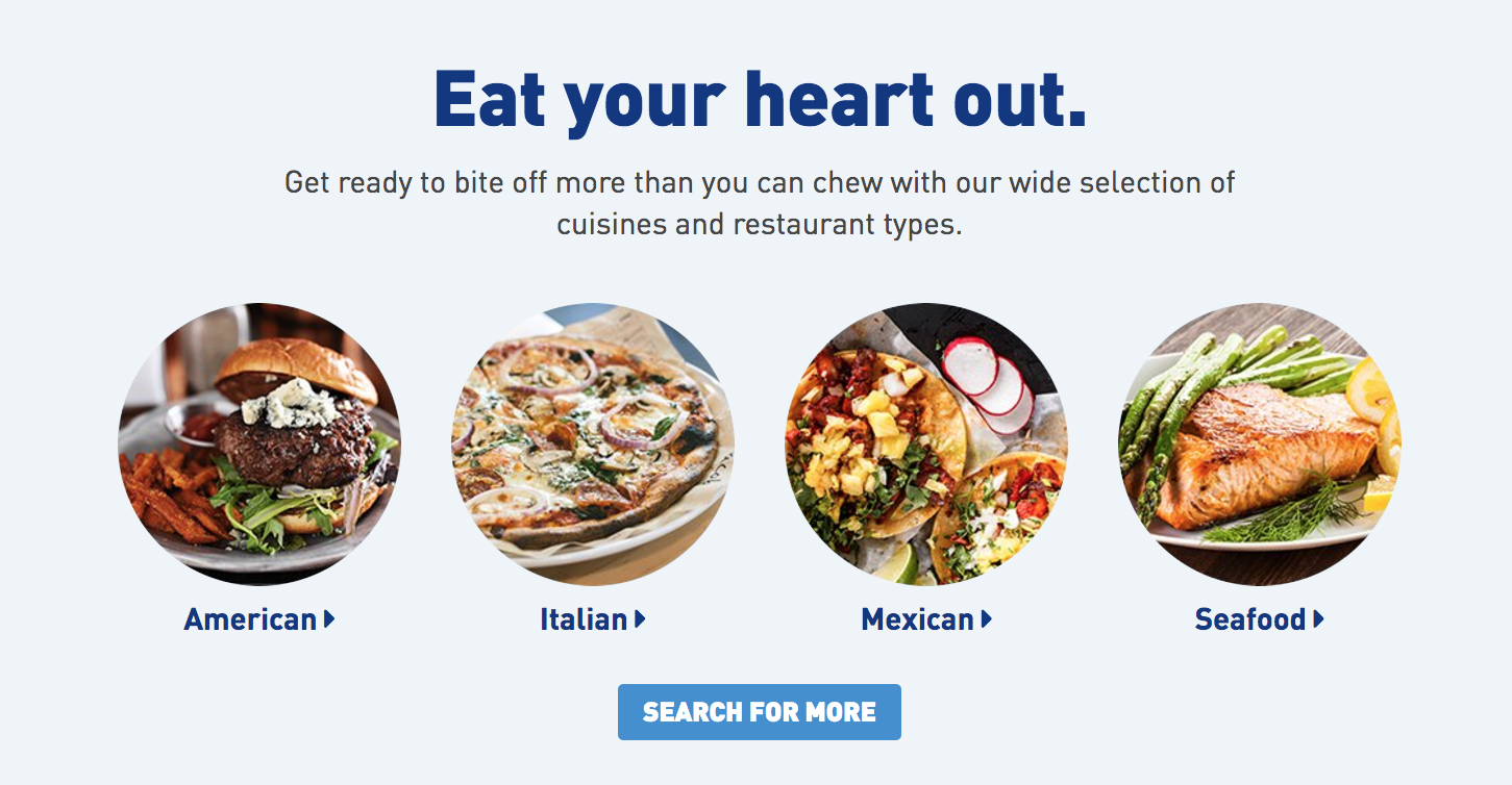JetBlue Dining Program