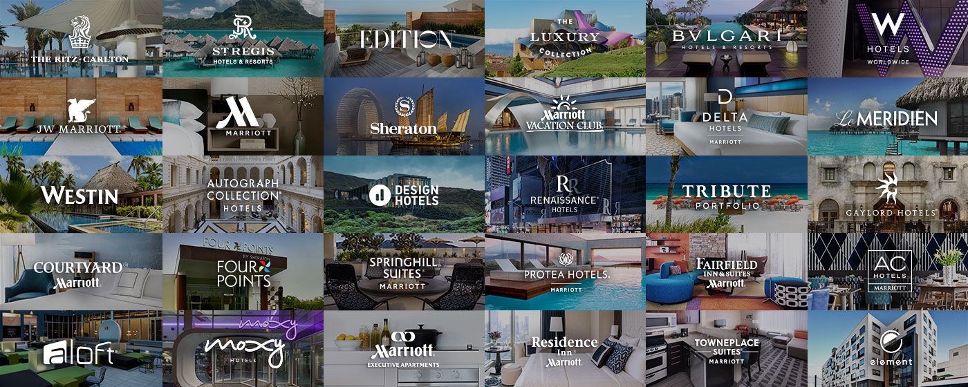 Marriott Has 30 Hotel Brands That Include Luxury High End And Mid Tier Properties Image Courtesy Of