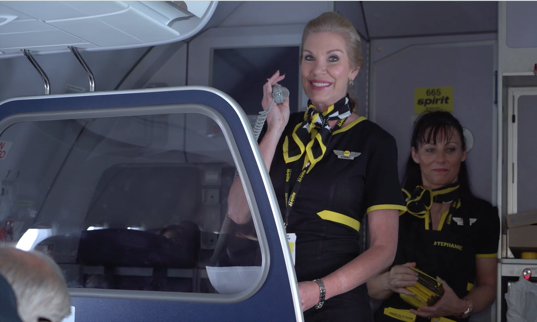 Spirit Airlines Flight Attendants