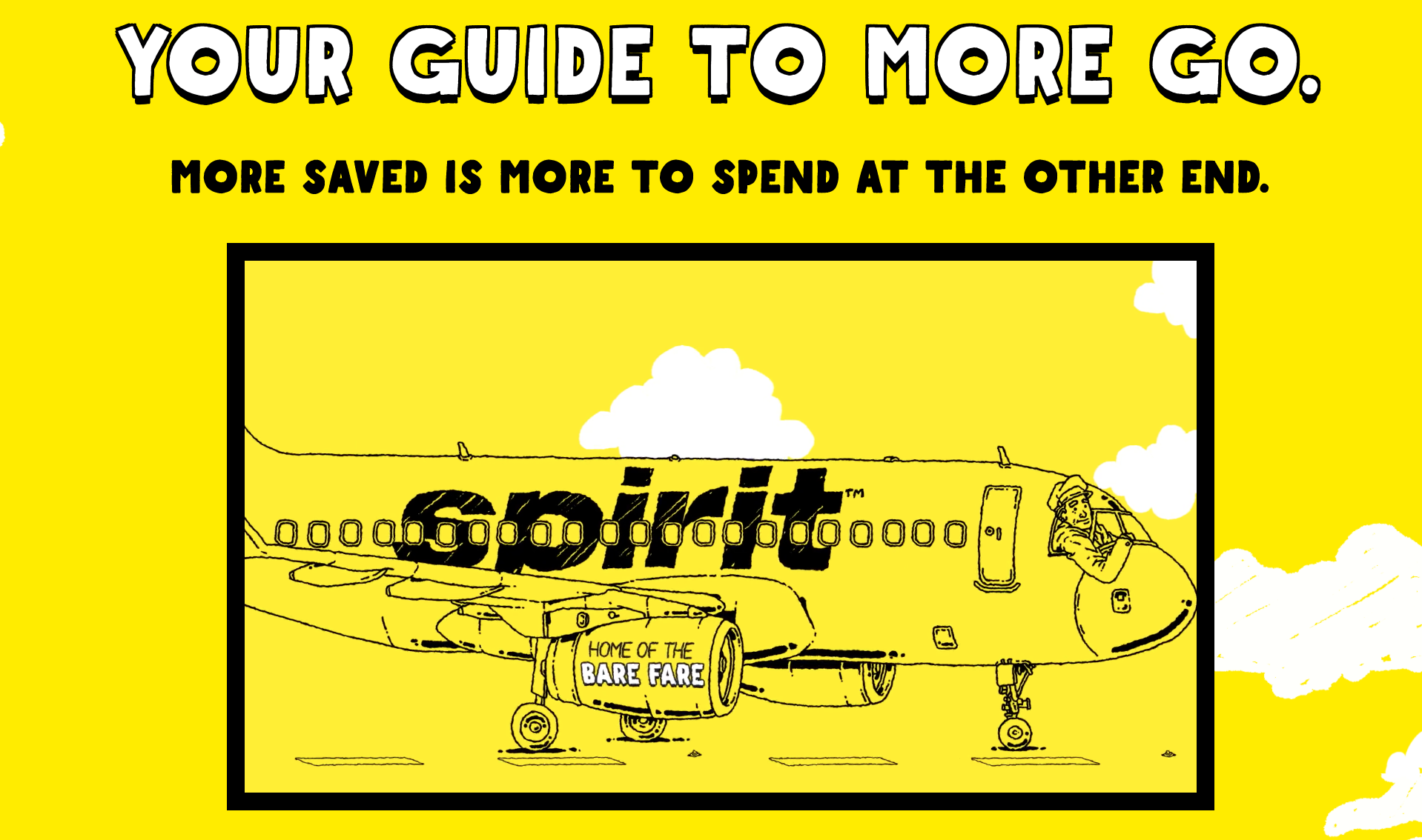 Spirit Airlines - Your Guide To More Go