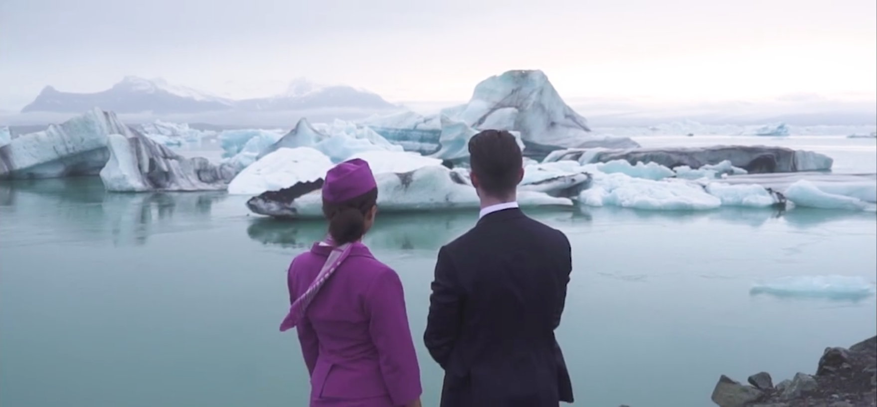 WOW Air, Captain and Flight Attendant in Iceland