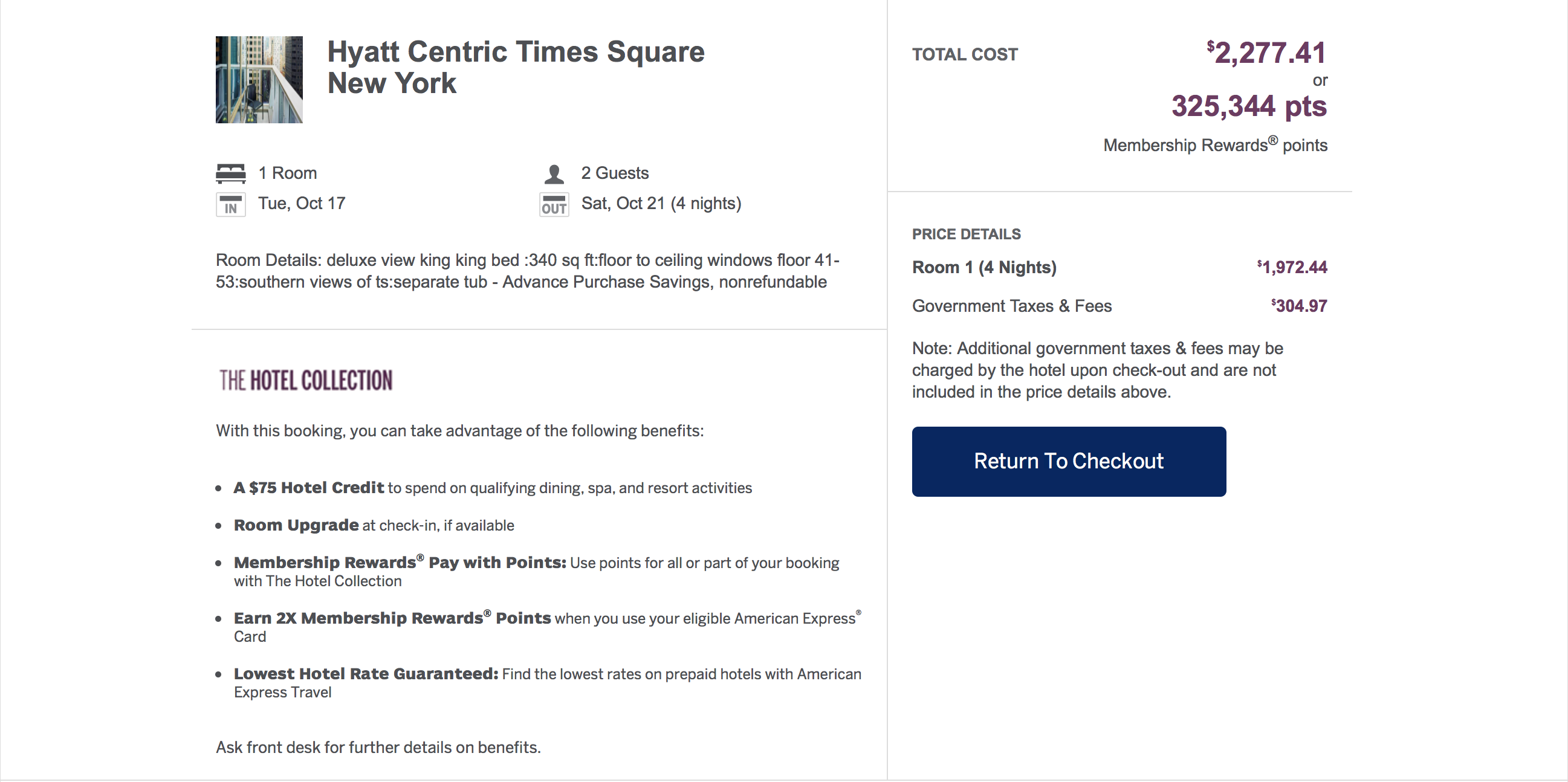 American Express Travel Points Have To Book Through American Express