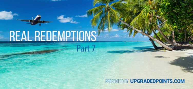 Real Redemptions Part 7 - Upgraded Points