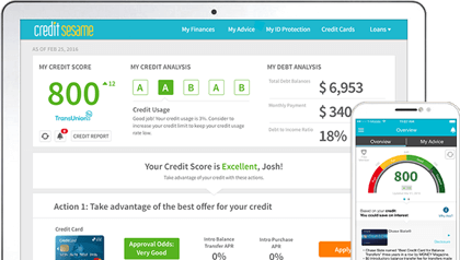 My Free Credit Report >> Credit Sesame Review Legit Free Credit Score Or A Scam 2019