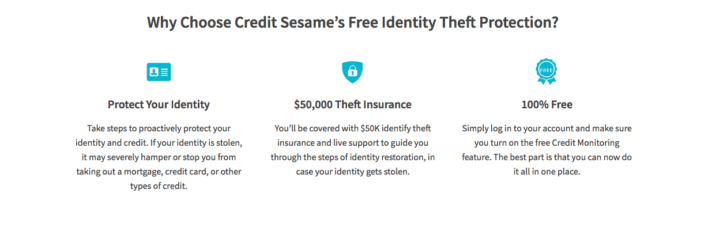 Credit Sesame Identity Theft Protection