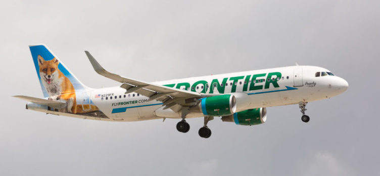 Frontier Airlines, Fox Livery
