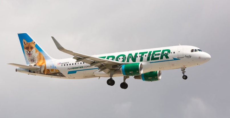 Frontier Airlines Review - Seats, Amenities, Customer ... on air france route map, air pacific route map, bahamasair route map, air florida route map, loganair route map, continental express route map, brockway air route map, air new zealand route map, reno air route map, air niugini route map, air madagascar route map, air greenland route map, delta air lines route map, garuda indonesia route map, eastern air lines route map,