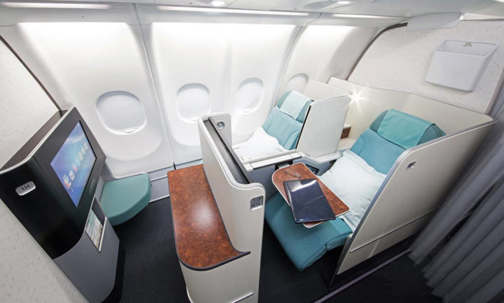 Korean Air A330 First Class