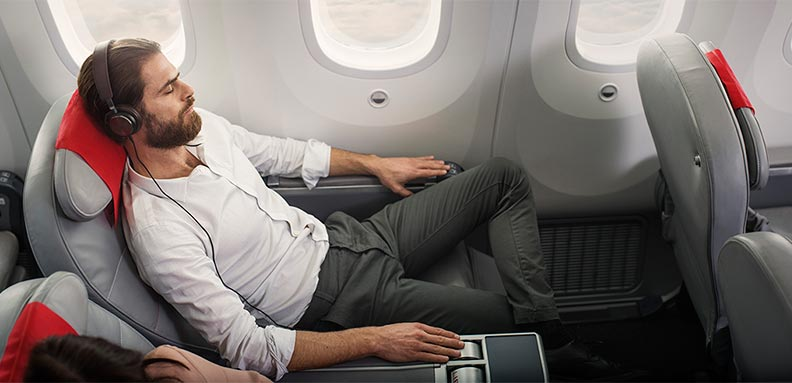 Norwegian Air Premium Cabin Seat