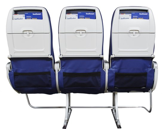 Southwest Airlines Slimline Seats (2)