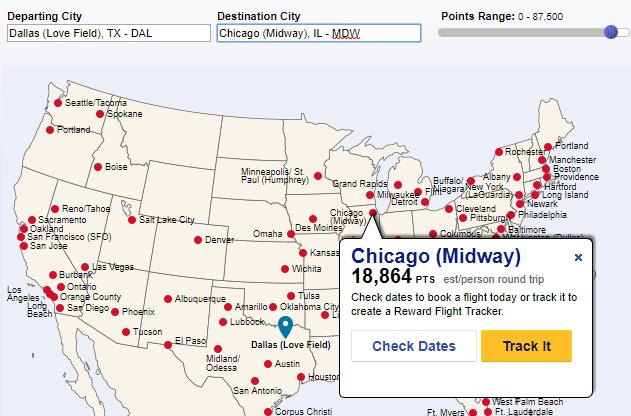 Southwest Destination Finder