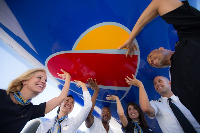 Southwest Heart Livery and Cabin Crew