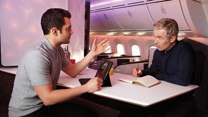 Virgin Atlantic Inflight Bar