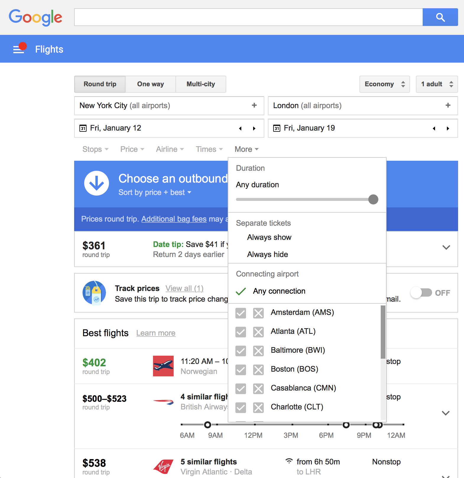 google flights everything you need to know amp more 2017