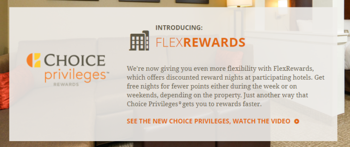 Choice Privileges FlexRewards